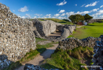 Old Sarum (image courtesy of Visit Wiltshire)