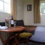 Inside Bluebell Shepherd's Hut